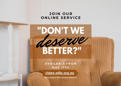 Don't We Deserve Better?