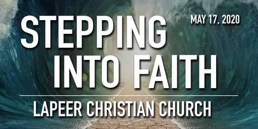 Stepping Into Faith