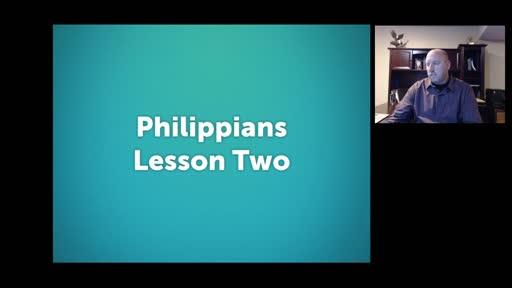 Philippians Lesson 2
