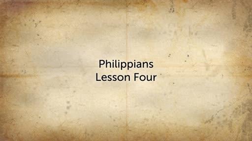 Philippians Lesson 4
