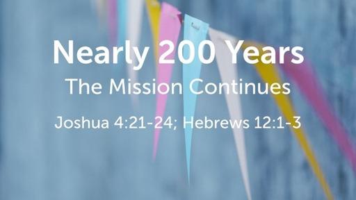 Nearly 200 Years