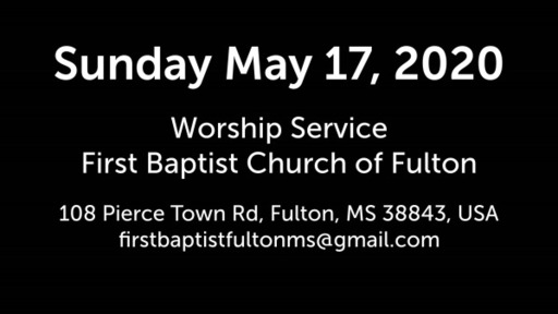 Sunday May 17 Worship