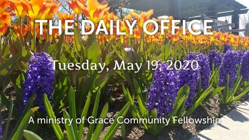 Daily Office - May 19, 2020