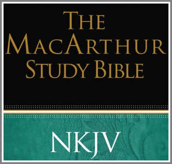 The MacArthur Study Bible NKJV (notes only)