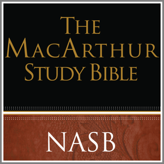 The MacArthur Study Bible NASB (notes only)