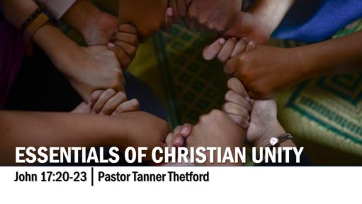 Essentials of Christian Unity