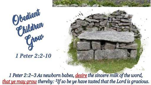 8a - Obedient Children Grow