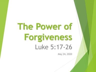 Sunday Message 5/24/20