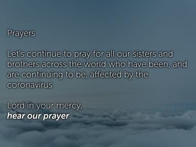 24.05.20 Matt Prayers