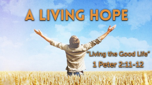 Living the Good Life (1 Peter 2:11-12)