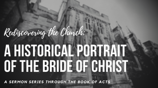 Rediscovering the Church: A Historical Portrait of the Bride of Christ
