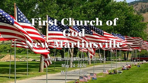 Sunday Morning Worship 5-24-20