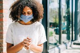 Woman Wearing a Mask 9 image