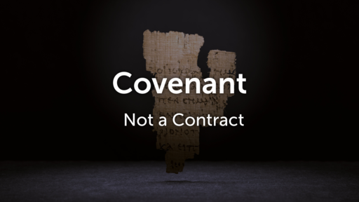 Covenant Not a Contract