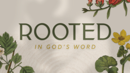 Rooted In God's Word Nature  PowerPoint image 1