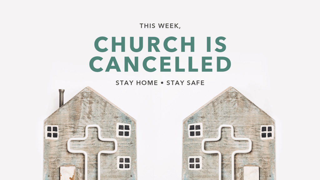 Church Is Cancelled Home large preview