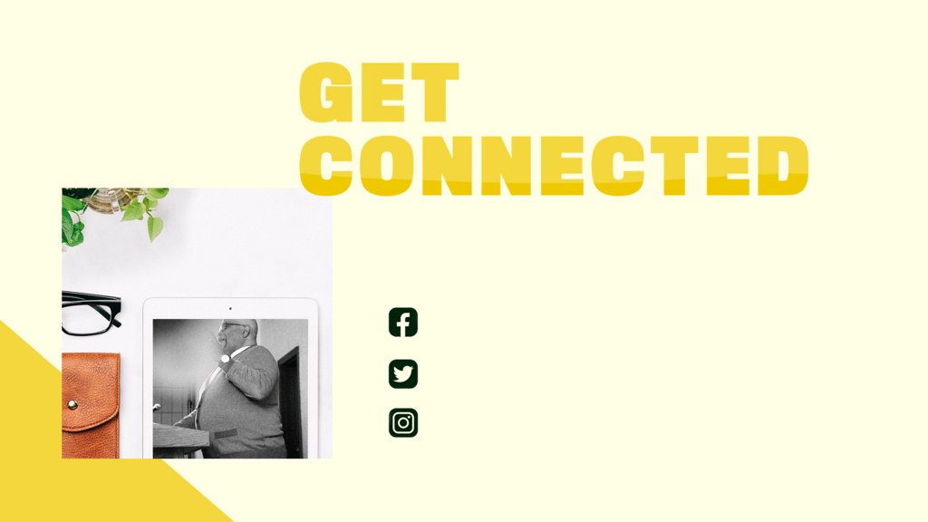 Get Connected Yellow large preview