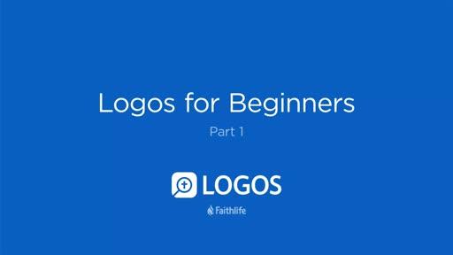 Logos For Beginners, part 1
