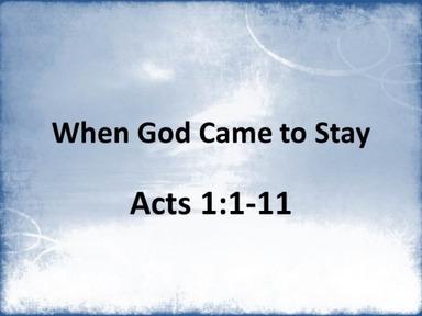 Sunday Message 5/31/20