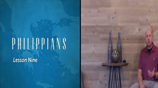 Philippians Lesson 9