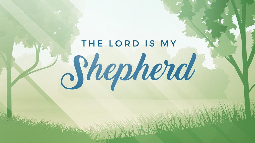 The Lord is my Shepherd large preview