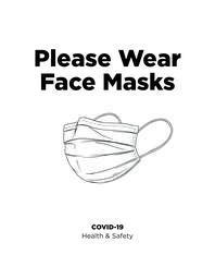 Please Wear Face Masks  image 1