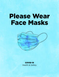 Please Wear Face Masks  image 3