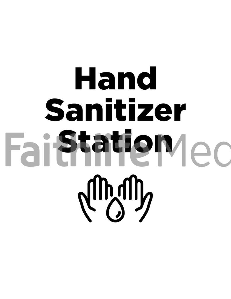 Hand Sanitizer Station large preview