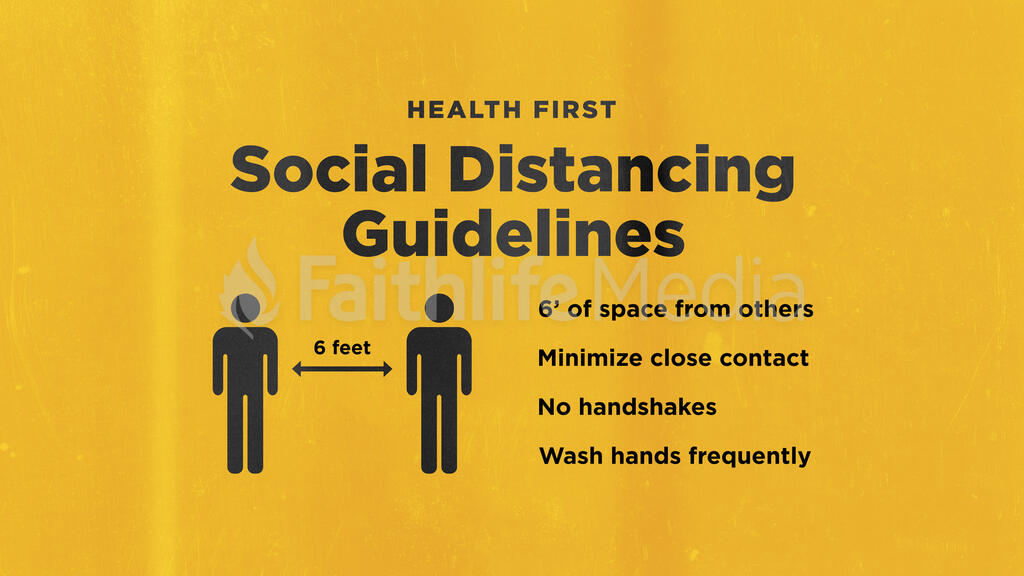 Health First Social Distancing Guidelines large preview