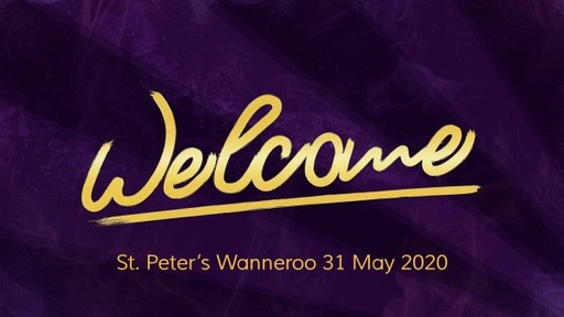 Pentecost 31 May 20