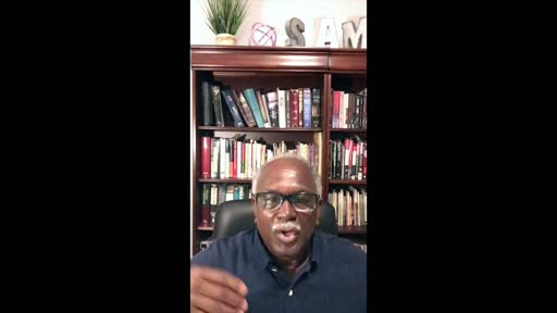 Sermon: Racism - Part I (Pastor, Dr. Samuel N. Smith)