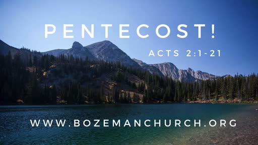 20200531 - Pentecost