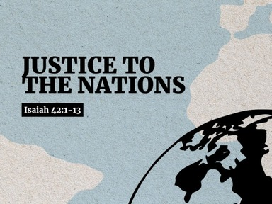 Justice to the Nations