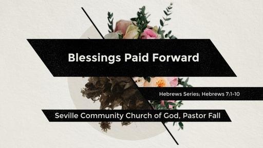 Blessings Paid Forward