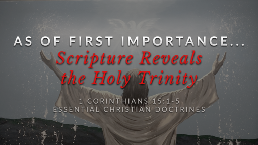 20. Scripture Reveals the Holy Trinity