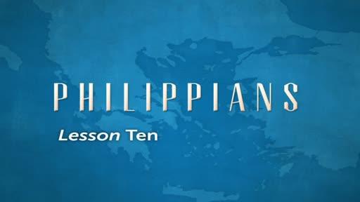 Philippians Lesson 10