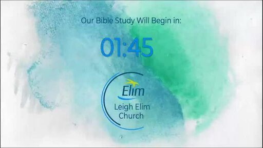 Bible Study - 4th June