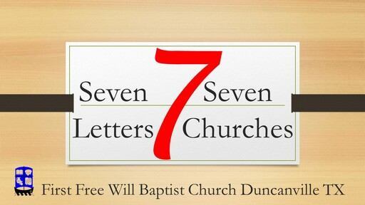 Seven Letters Seven Churches