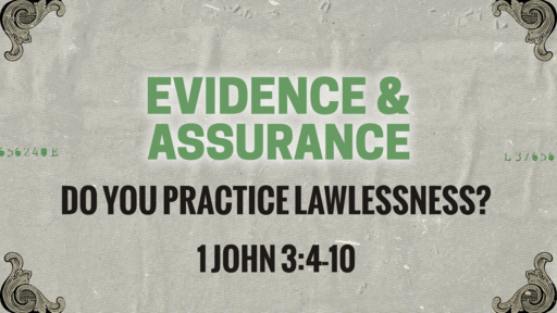 Do you practice lawlessness?