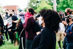 Black Woman at a Rally  image 1