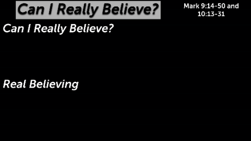 Can I Really Believe?