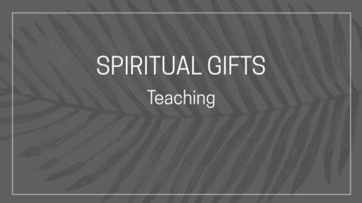#thecomtemporary, Spiritual Gifts