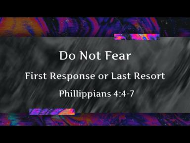 First Response or Last Resort
