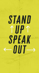 Stand Up Speak Out  image 2