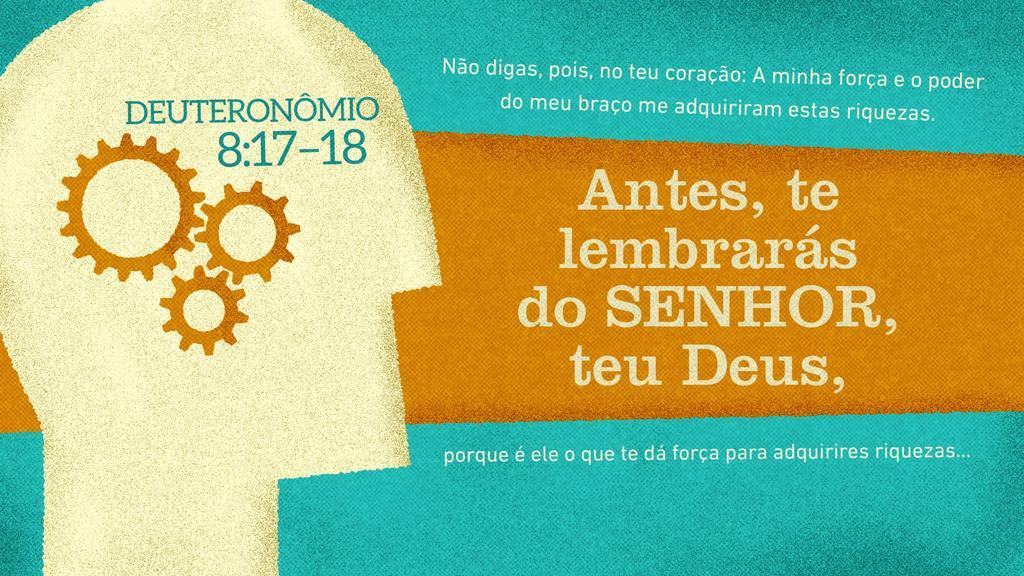 Deuteronômio 8.17–18 large preview