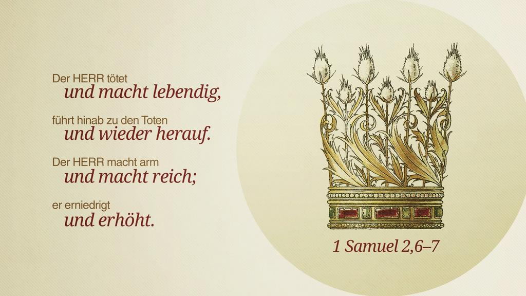 1. Samuel 2,6–7 large preview