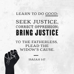 Isaiah 1:17  image 1