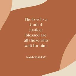 Isaiah 30 18 ESV Squares image