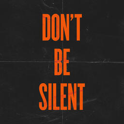 Don't Be Silent Orange Squares image