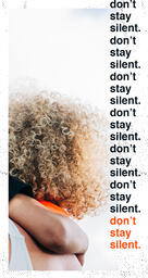 Don't Be Silent Orange IG Stories image